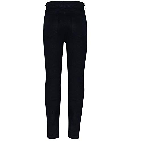 Kids Girls Skinny Jeans Denim Ripped Fashion Stretchy Pants Jeggings 3-14 Years 3