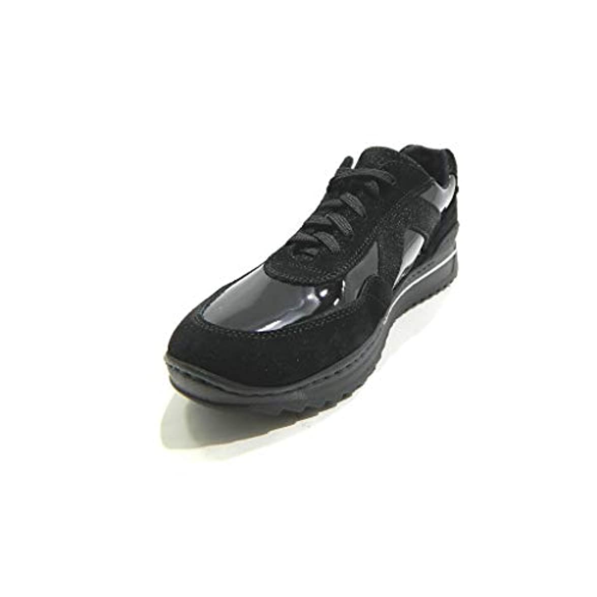 Stile Di Vita 7282 Sneakers Donna Stringate Ultra Soft Suede Mix Nero