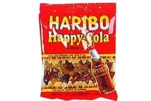 Haribo Happy Cola Gummies 12 Pack Case of 5oz Bags