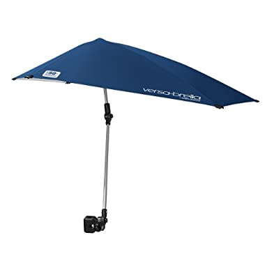 Sport-Brella Versa-Brella All Position Umbrella with Universal Clamp, Midnight Blue