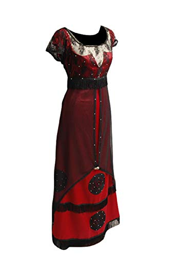 GOTEDDY Women Halloween Rose Jump Dress Cosplay Costume Victorian (XXL)]()