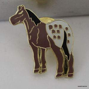 (Pin for Backpacks - New Appaloosa Horse Lapel Hat Pin Fancy Spotted Show Animal Tie Tack Stallion - Accessories for Clothes)