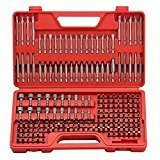 - Craftsman Ultimate Screwdriver Bit Set - 208 pcs Power Tools Box Case Original
