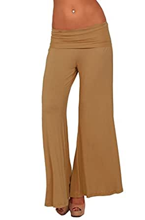 Long Gaucho Boho Flare Elephant Wide Leg Chic Sophisticated Casual Sassy Pants