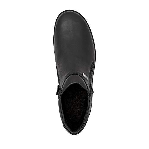 große Winterflora 856903 Schwarz Übergrößen Damenschuhe Stiefel 000 Schwarz 15 Jomos in 18A6n6B