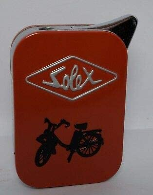 Rouge Les Collections R/étro Briquet m/étal Rechargeable Solex
