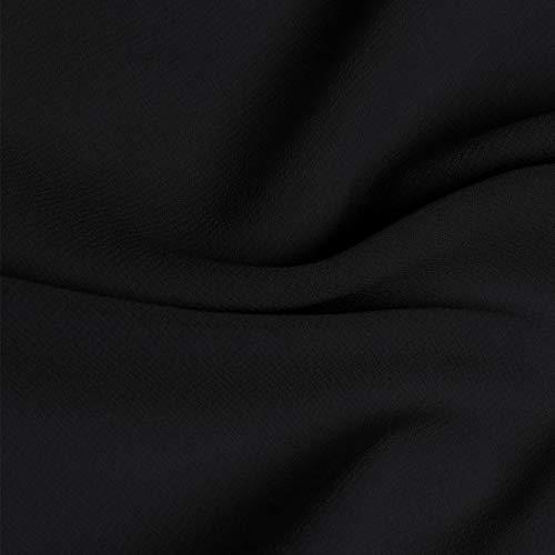 Manches Coton Bouton Automne Casual Femmes Slim 1 Lin lgant Solide Chemisier Hiver Bouton Longues MORCHAN Tops Noir Polyester Bas Chemise x5fXq7nZw