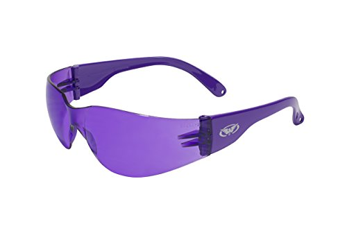Global Vision Colored Plastic Safety Glasses - Colored Glasses Safety