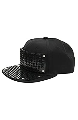 Bricky Blocks Black Snapback Hat for Kids and Adults by elope from Elope
