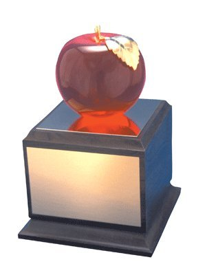 Affluence Unlimited Lucite Apple Pedestal Recognition Awa...