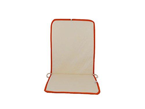 Cuscini Con Schienale Per Sedie Da Esterno : Catay home pack di cuscini con schienale arance per sedia da