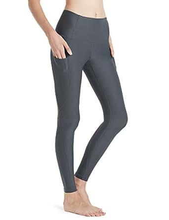 Tesla Yoga Pants High Waist Tummy Control w Side Pocket FGP54-CHC