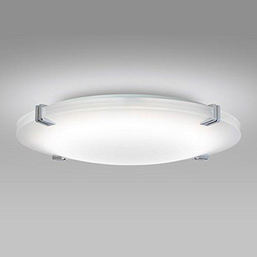 NECライティング LEDシーリングライト クロームメッキ4点飾り  ホタルック機能付  調光調色タイプ  8畳 SLDCB08553SG   B019ERVEAY
