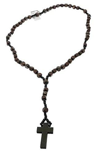 collier perle croix