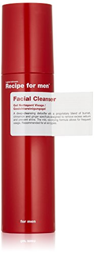 Recipe for Men Facial Cleanser, 3.4 fl. oz.