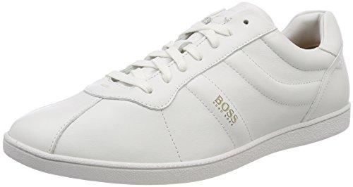 Boss Orange Rumba_Tenn_ltpl, Sneakers Basses Homme Blanc (White 100)