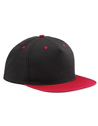 d6dd9404a16d32 Caps besticken Lassen ab 10 Stück - BBECHFIELD 5 Panel Contras Snapback Cap  (Black/