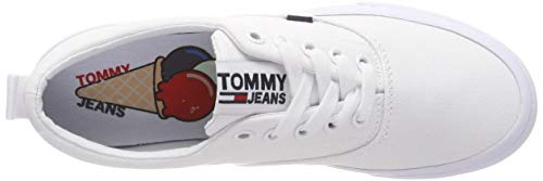 Sneaker Jeans Hilfiger Ginnastica Classic Da 100 Basse Scarpe Tommy Denim white Donna Bianco Wmn IwwXrqFZ