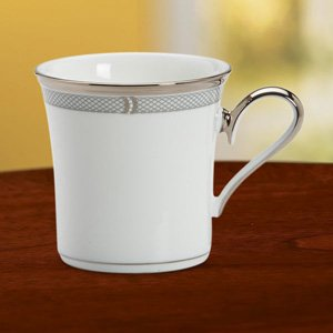 Solitaire White Accent Mug by Lenox China ()