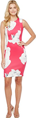 calvin klein hibiscus dress - 2