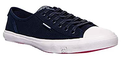 Superdry Low Pro Womens Shoes 5 B(M) US Women Navy