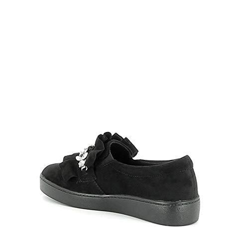 Misstic Et Slippers Frous Noir Bijoux Avec 1trpx1
