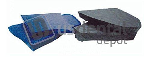 CORNING- Regular Blue Inlay Wax Chunks- 1lb. - ( mfg #093 ) 034-1880400 Us Dental Depot