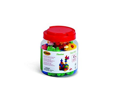 Edushape Ez-Grip Flexies 60 Piece Development Toy