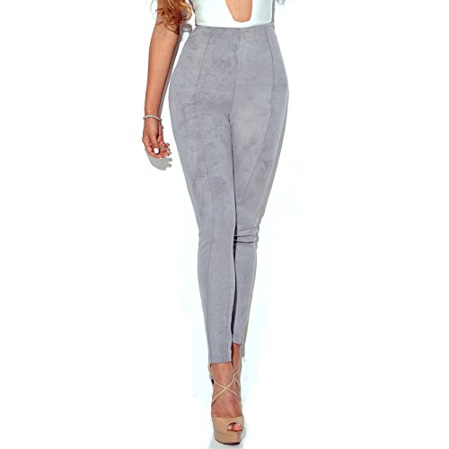 CHENMA - Jeans - Femme Gris