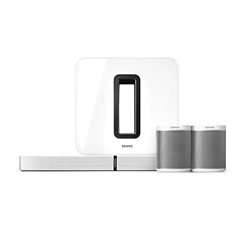 Sonos 5.1 Home Theater System with PLAYBASE (White)