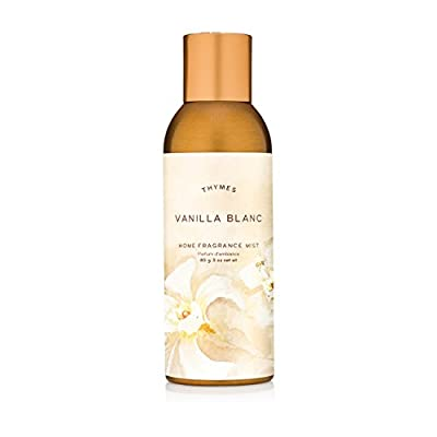 Thymes - Vanilla Blanc Home Fragrance Mist - Warm Vanilla Scented Room Spray - 3 oz