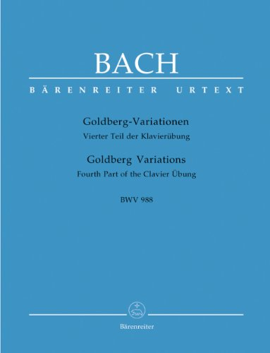 Bach: Goldberg Variations, BWV 988 (Without Fingering)
