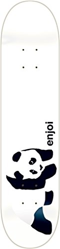 (ENJOI WHITEY PANDA Skateboard Deck-7.75 resin 7 w/ MOB GRIP)