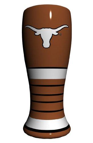 NCAA Texas Longhorns Artisan Pilsner Glass, 23-ounce (Glass Painted Hand Art Ncaa)