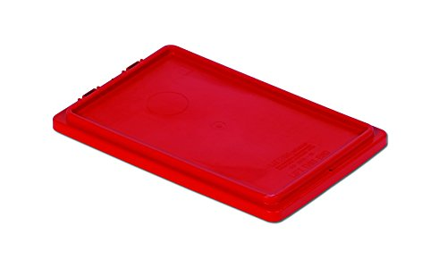 LEWISBins+ CSN2013-1SE Red Stack and Nest Container Cover, Polypropylene, 20.6