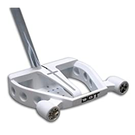 Best Golf Putter DOT PUTTER PLX 747 Mallet – Game Improvement Left-Hand/Right-Hand World Patented PLX 2D Parallax Alignment System = Eye Exactly Over The Target Line