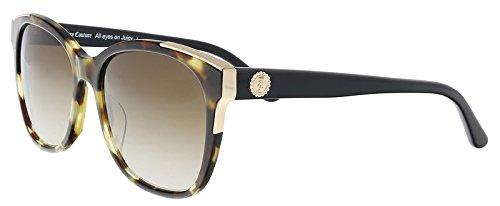 (Sunglasses Juicy Couture Ju 593 /S 0N19 Khk Havana Black / HA brown gradient len)