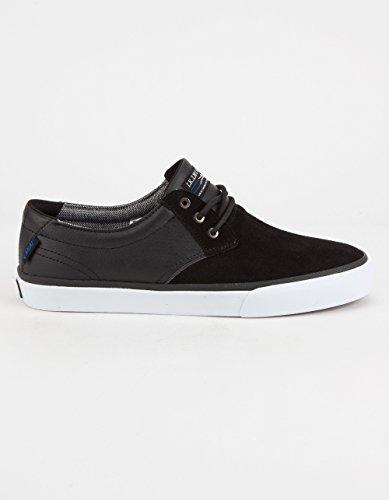 Lakai Men's MJ Skateboarding Shoe, Black Suede, 8 D US MJ