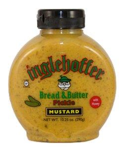 Inglehoffer Bread & Butter Pickle Mustard 10.25 Oz (Pack of 2)