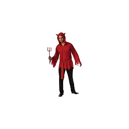 Rubie's Men's Devil Costume Medium (32-34) 883028025053 (Devil Robe Child Costume)