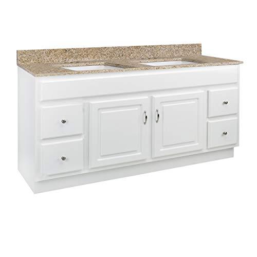Design House 592741 Concord 2-Door 4-Drawer Granite 4