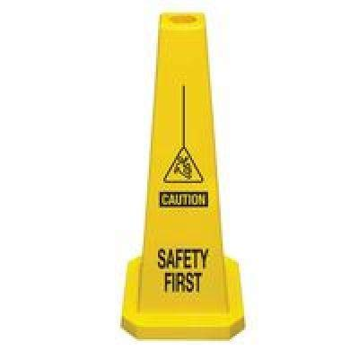 36 Cortina Safety Products 03-600-04 Lamba ConesSafety First Pack of 5 Yellow