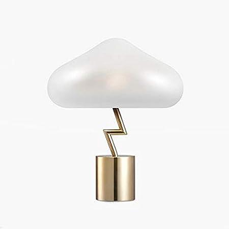 YXWtda Lámparas de Escritorio Color Blanco Seta Nube ...