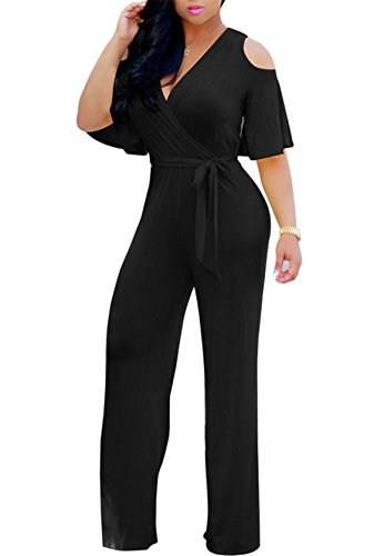 plus size black pant suit - 2