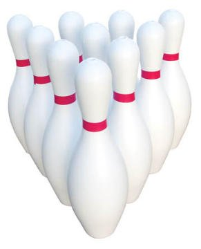 Palos Sports The Zone Weighted Bowling Pin Set by Palos Sports