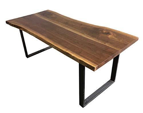 Amazon.com: Live Edge Walnut Dining Table: Handmade
