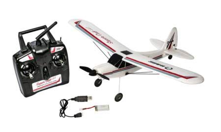 Rage RC RGRA1110 Super Cub MX Micro Ep 3-Channel Ready to Fly Radio Control Airplane, White