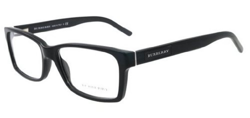 Burberry BE2108 Eyeglass Frames 3001-5416 - Black - Burberry Black