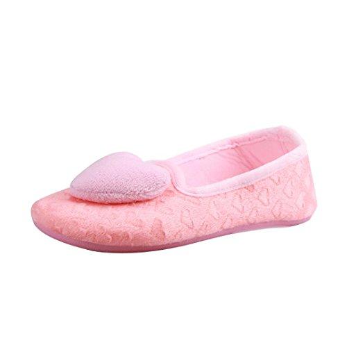 Zapatos calientes embarazadas Mujeres Mujeres embarazadas Zapatillas mujeres Rosado ® de Zapatillas zapatos Ouneed yoga encantadoras para suaves BOxqz