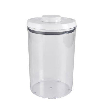 2 X OXO Pop 4.5-Quart Round Canister 4.2-Liter